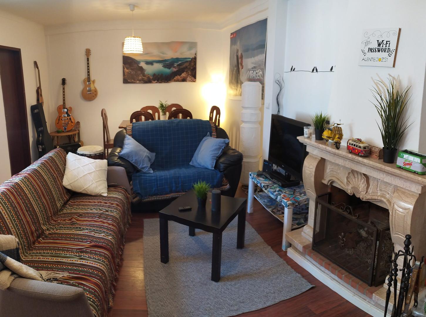 Alentejo Surf School Camp Milfontes Lounge