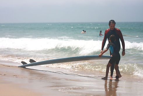 Surf lessons for the whole family with A