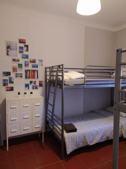 Our shared room for you