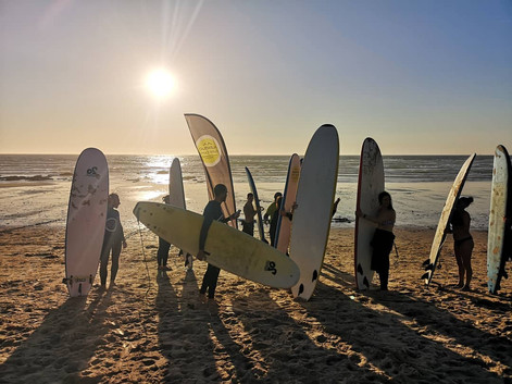 Sunset Surf sessions are priceless