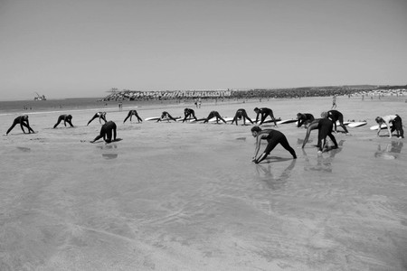 Warm up at the beach!