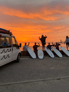 Best sunset surf sessions ever in Portugal
