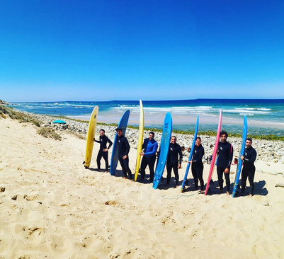 Have fun with us at the best surf spots in Alentejo
