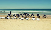 Alentejo Surf School and Camp in Milfontes provides surf lessons and courses, stand up paddle board tours along the river in Milfontes, Alentejo, Portugal, Europe