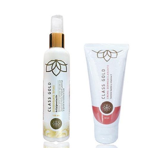 Kit Intimo Desodorante Intimo+Dermoaclarante Corporal