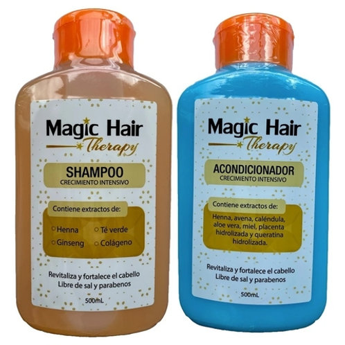 Kit Shampoo + Acondicionador Crecimiento Intensivo + Tónico Capilar De Obsequio