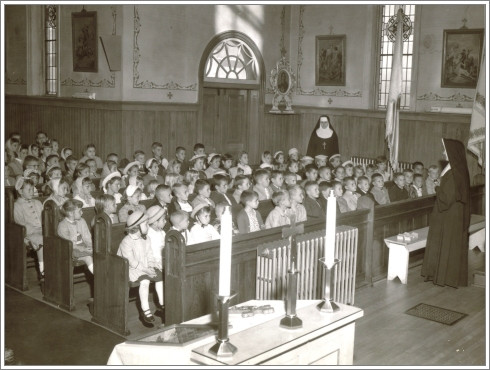 Catechism Class - 1959