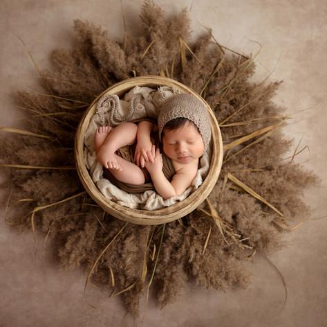 baby foto boho