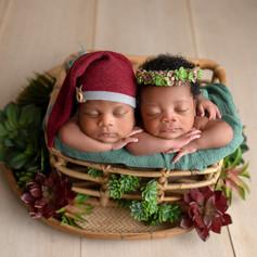 süße zwillinge junge und Mädchen