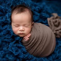 Neugeborenes Junge in Kukon