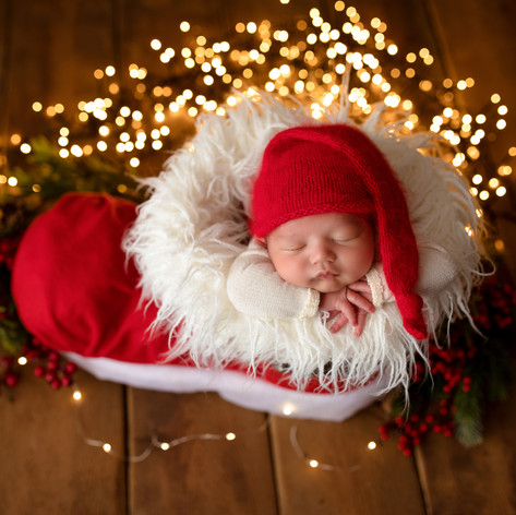 Baby fotograf weihnachten Köln