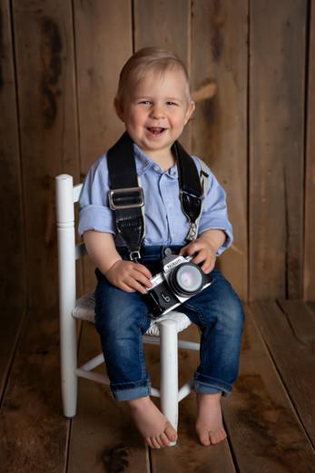 Kinderfotoshooting im Studio Troisdorf