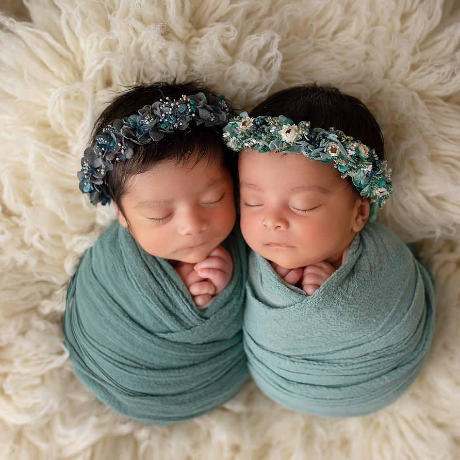 zwillinge Fotoshooting