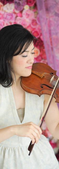 バイオリニスト プロフィール写真