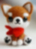 felting kit dog brown and white.jpg