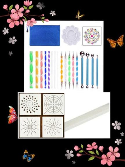 Mandala Dot Painting Tool Kit
