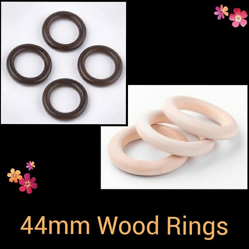 44mm Wood Rings