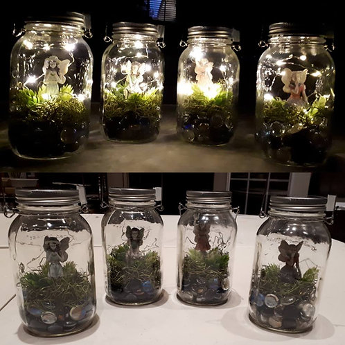 Solar Fairy Jar Kit
