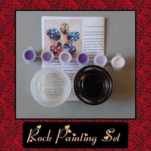 Rock Painting Set (Tools sold separately)