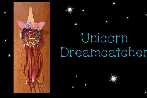 Unicorn Dreamcatcher Instructional Video & Supply Kit