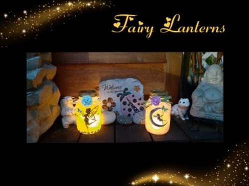 Fairy Lantern Instructional Video & Supply Kit