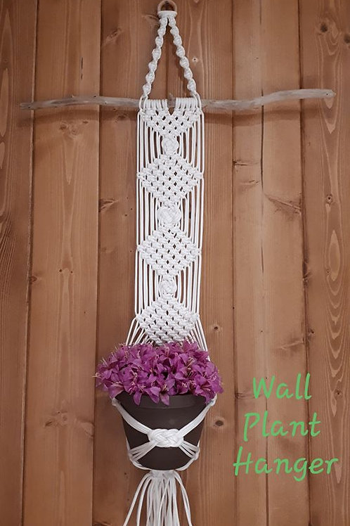 Macrame Wall Plant Hanger Instructional Video & Supplies