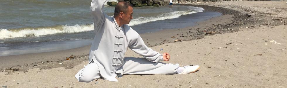 Master Ma at the Beach