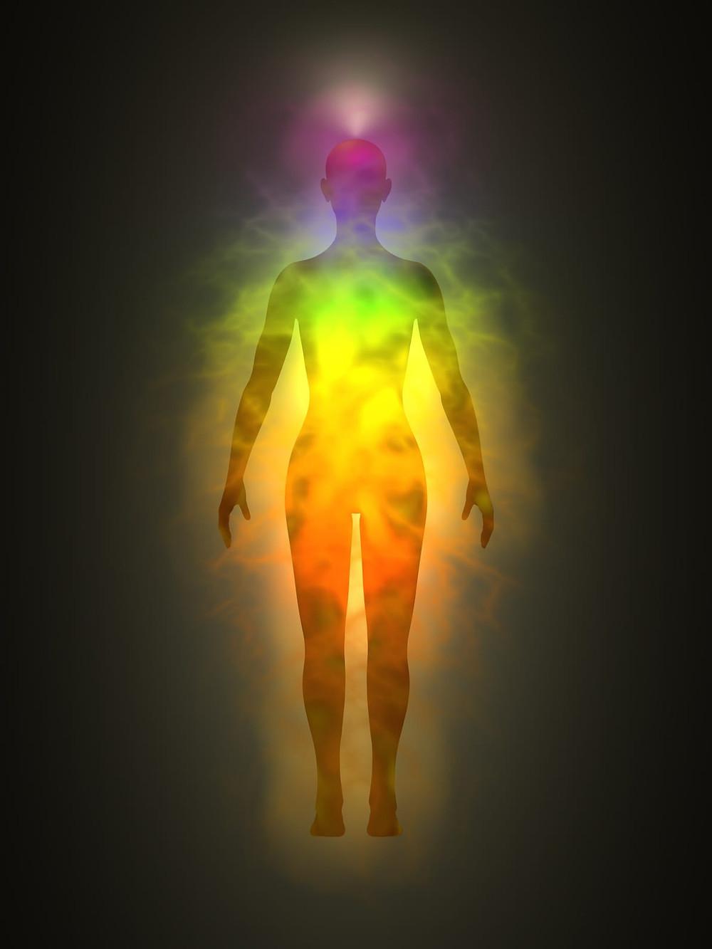 Aura, human energy field
