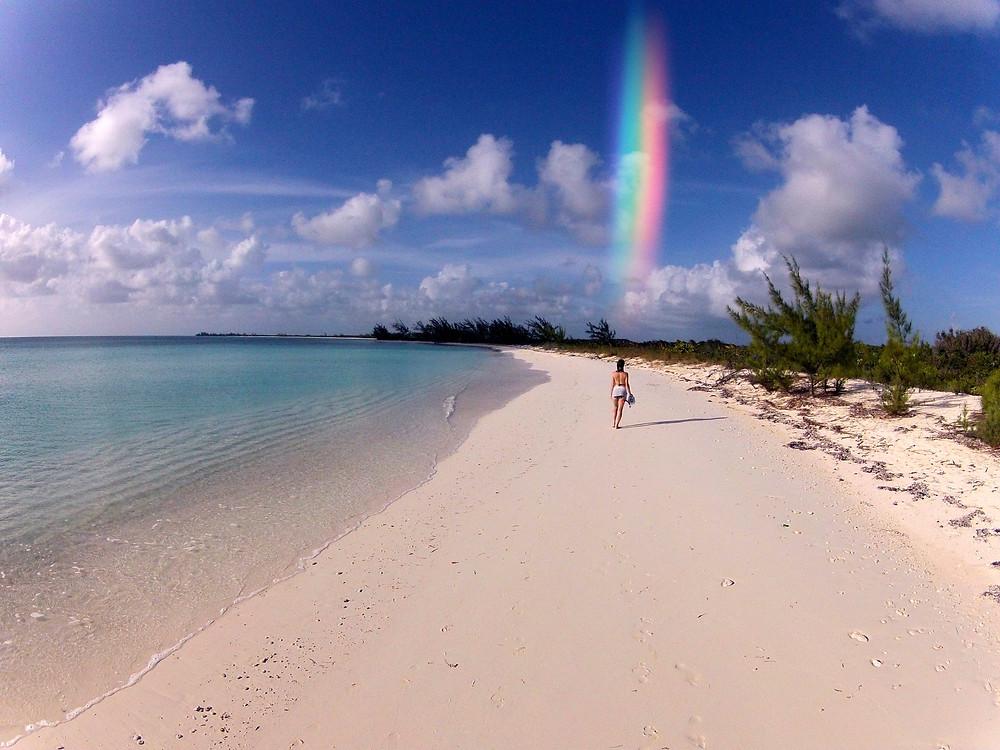 Virginia Leigh Gross + Rainbow + Bahamas