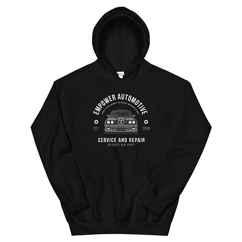 """""""Life's Too Short To Drive Boring Cars""""  Unisex Hoodie"""