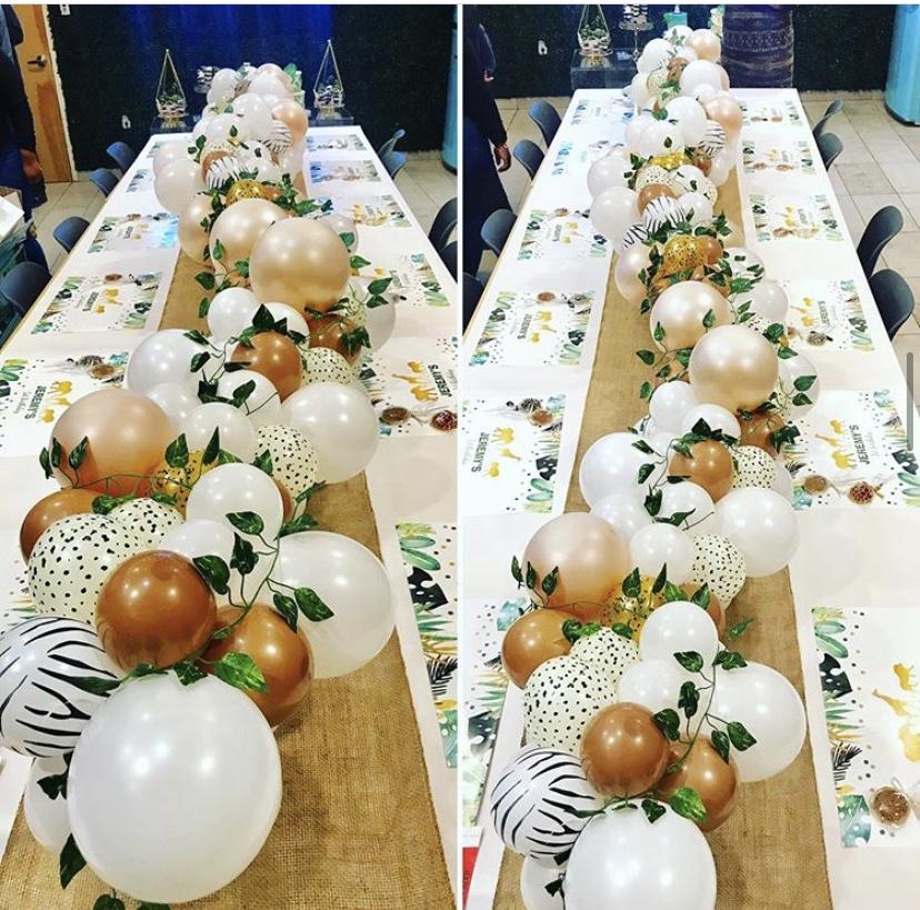 Balloons Table Runner