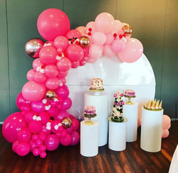 Pink Ombre Balloons