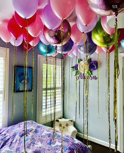 Morning Surprise with Balloons