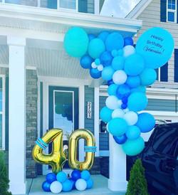 Custom Balloons Garland