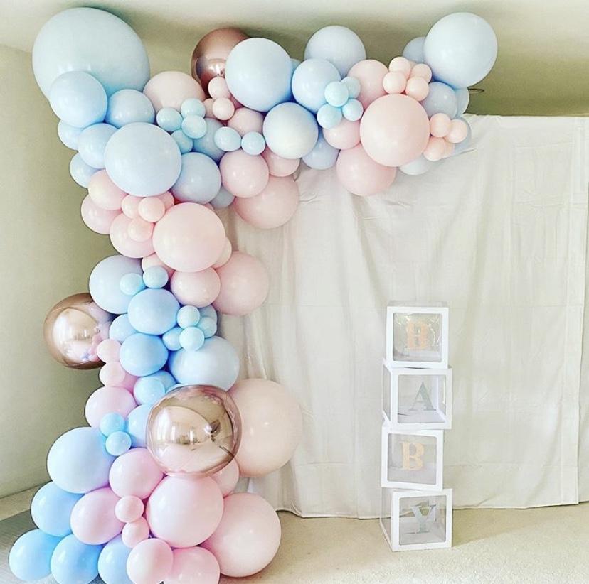 Custom Color Organic Balloons Garland