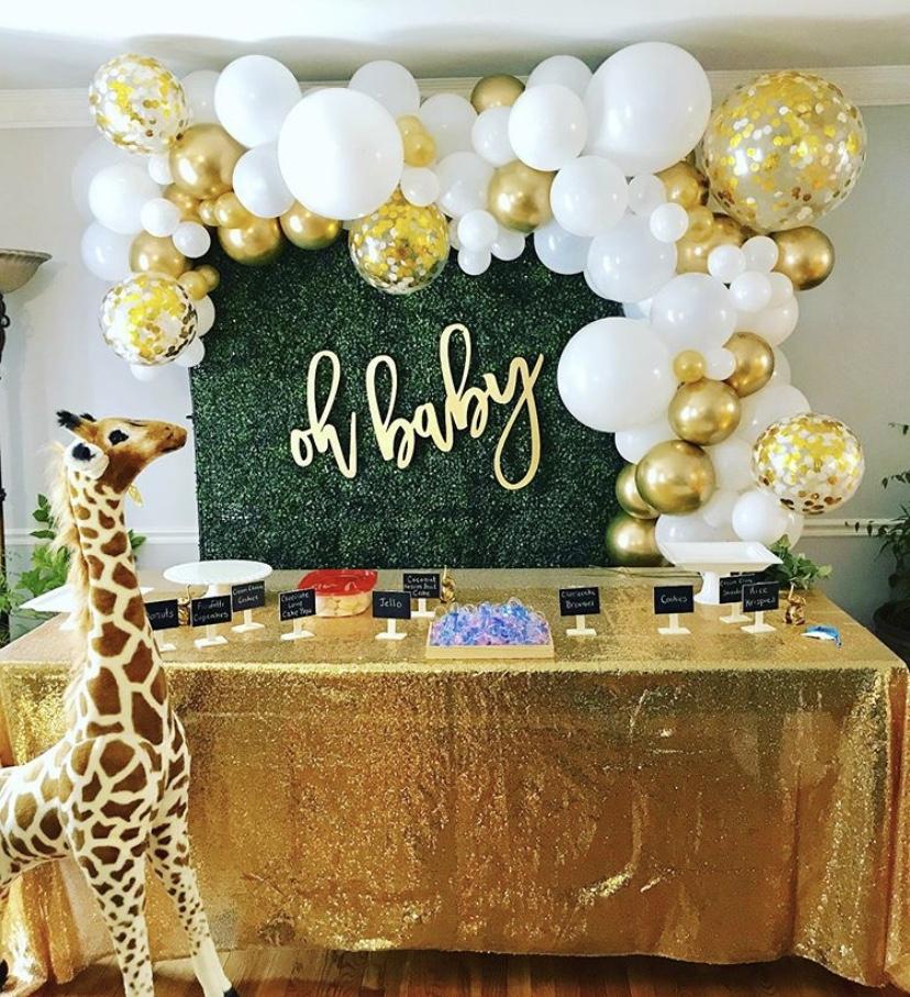 Safari Balloons Backdrop