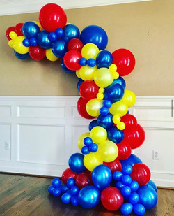Circus Organic Balloons Garland