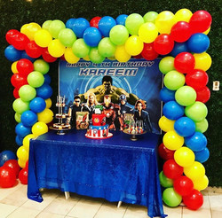 Avengers Balloons Arch