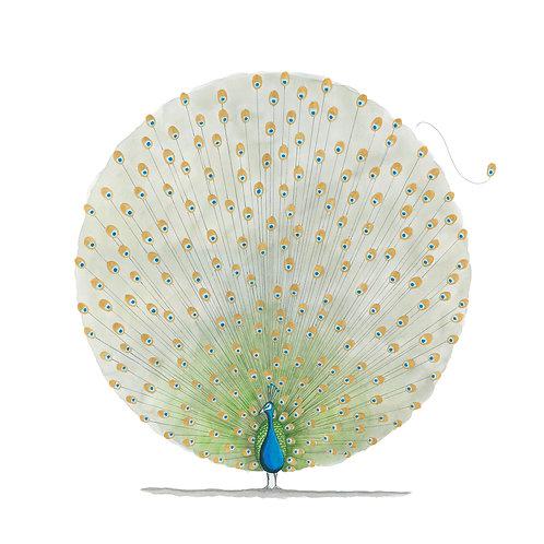 "Peacock 22""x 22"""
