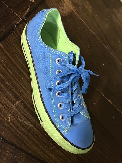 Converse Blau/Grün, Gr. 37.5