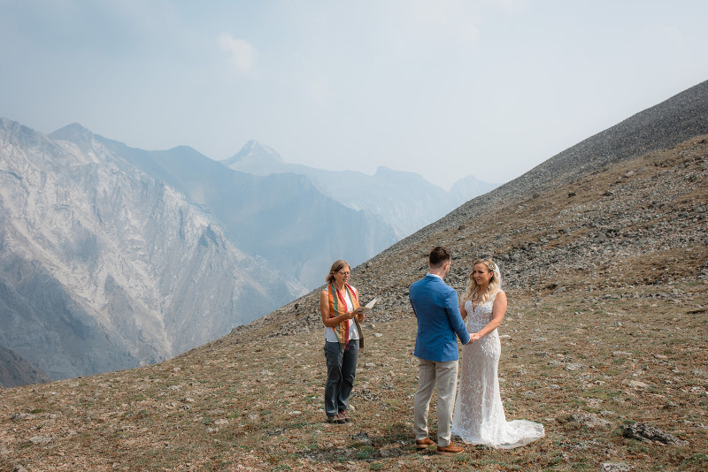 Rocky Mountain Elopement in the Fall