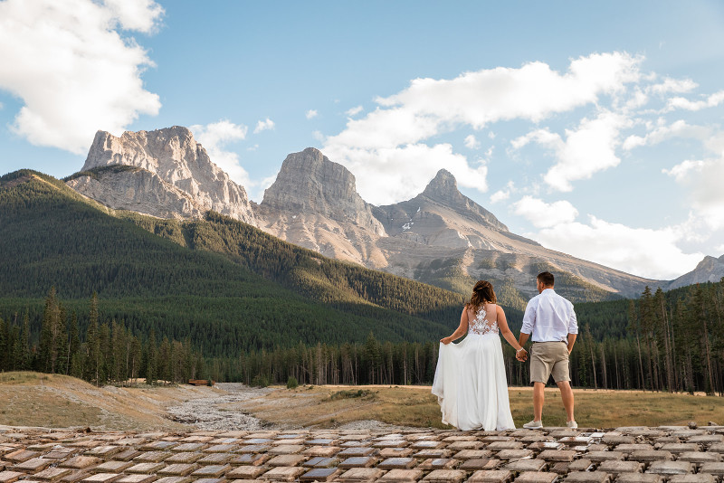 Private wedding locations in Rocky Mountains
