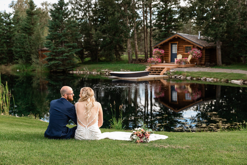 Pine and Pond Elopement Package for Last Minute Weddings