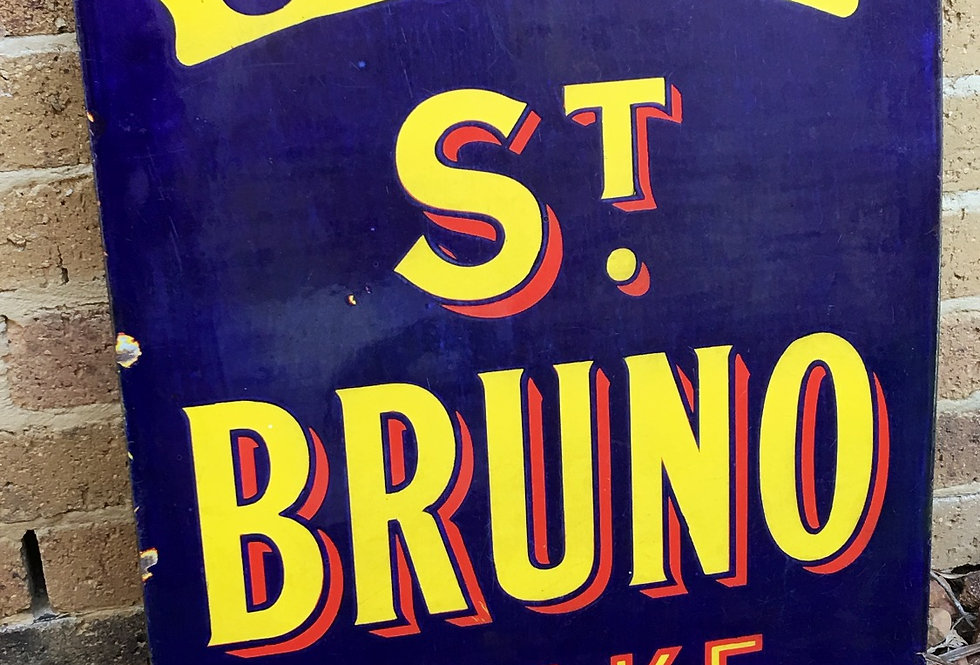 Ogden's St. Bruno Flake Sign