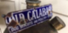 Vinage enamel sign; Old Calabar