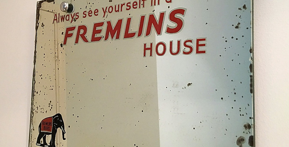 Fremlins Original Pub Advertising Mirror