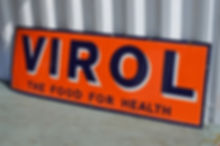 Prime collectible Virol Sign bought from Carl.