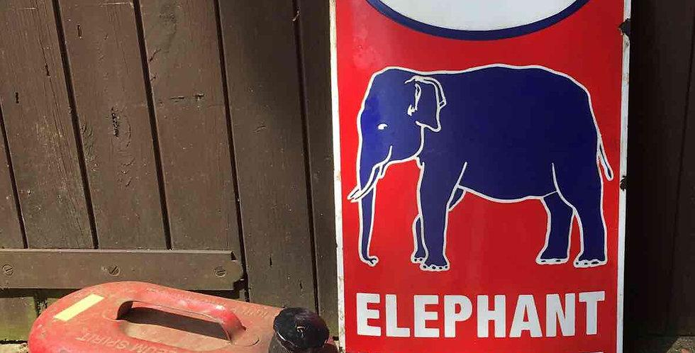 Esso Elephant Kerosene 1950s Sign Front