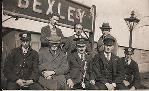 Historical railway photo