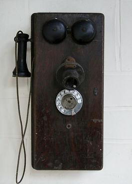 An old telephone; vintage memorabilia